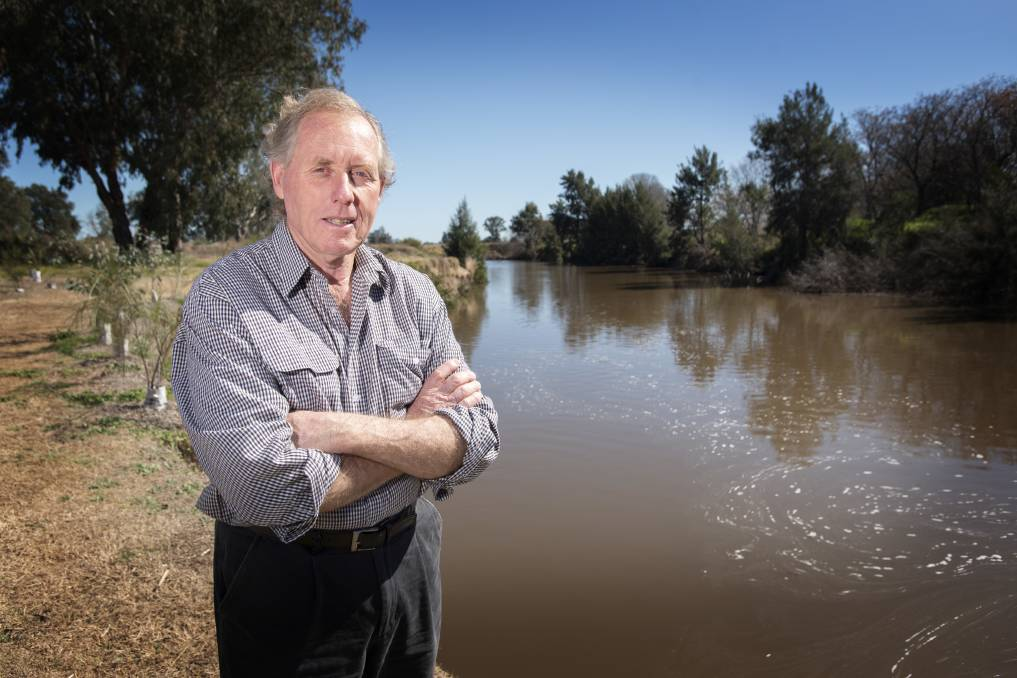 Tamworth ecologist Phil Spark is hopeful recent rain may allow the government time to reconsider its water security options. Photo: Peter Hardin