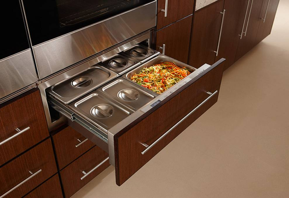 TECHNOLOGY MATTERS: Wolf's warming drawer can do more than just the obvious. Photo: Supplied