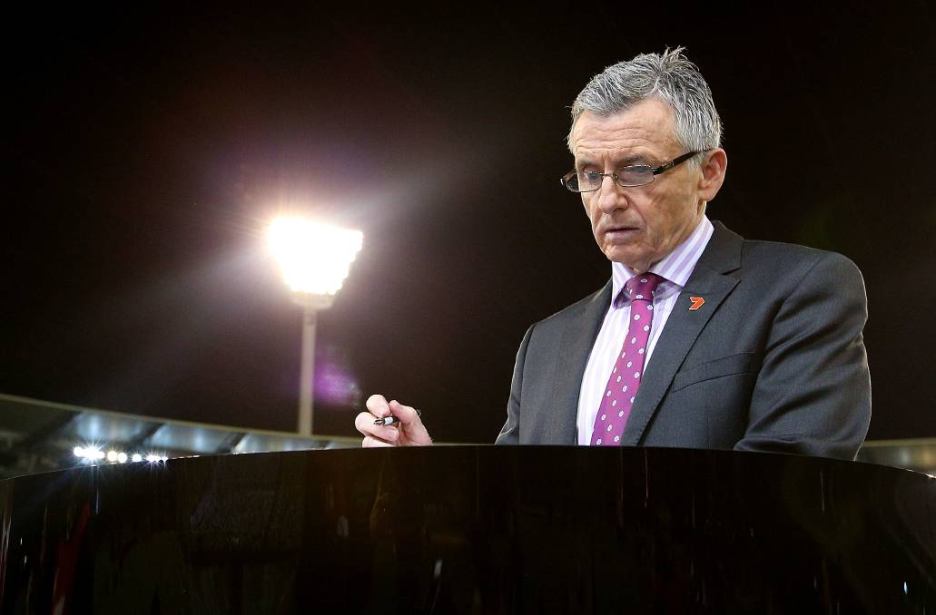 Doyens like Bruce McAvaney have been replaced by self-serving banter. Photo: Michael Dodge/Getty Images